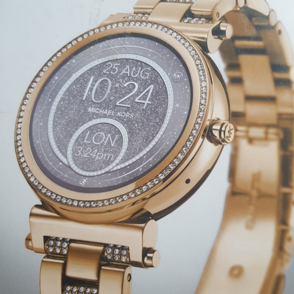 231a2adc6367 Michael Kors access Sofie gold tone smartwatch